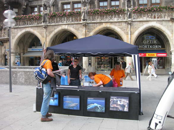 World Oceans Day - Oil Spill Rally - Munich/Germany 10
