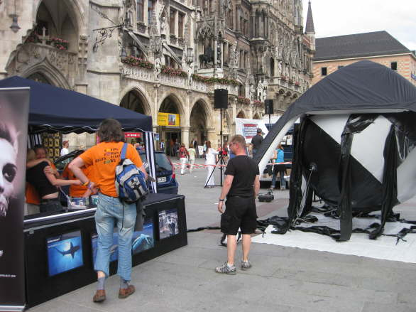 World Oceans Day - Oil Spill Rally - Munich/Germany 12