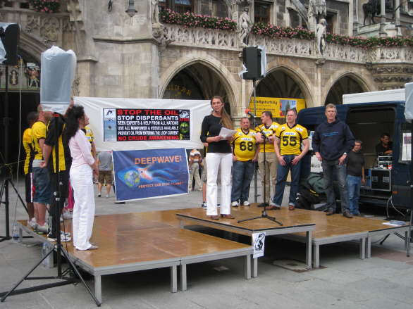 World Oceans Day - Oil Spill Rally - Munich/Germany 34