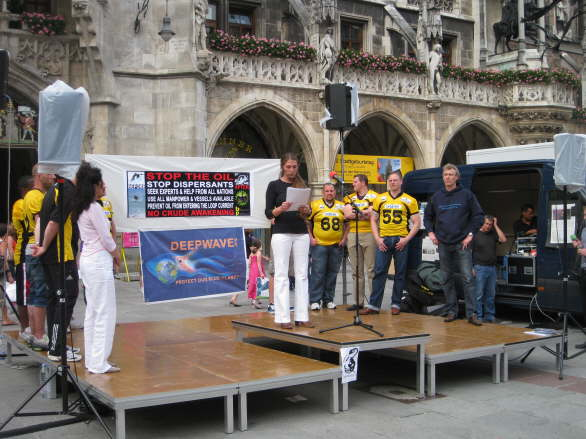 World Oceans Day - Oil Spill Rally - Munich/Germany 35