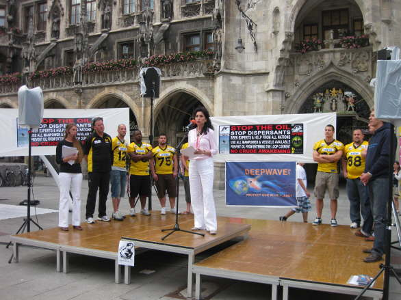World Oceans Day - Oil Spill Rally - Munich/Germany 38