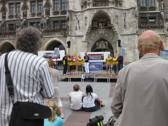 World Oceans Day - Oil Spill Rally - Munich/Germany 48