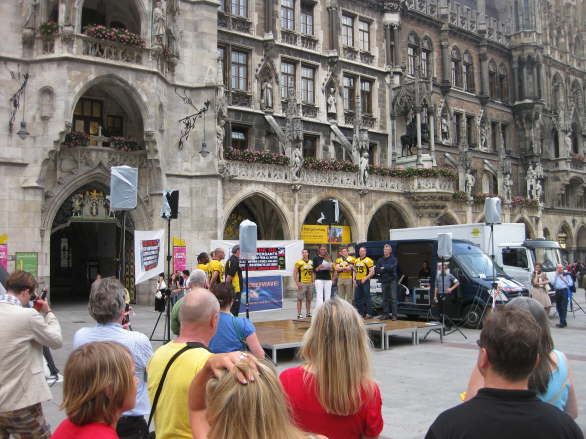 World Oceans Day - Oil Spill Rally - Munich/Germany 49