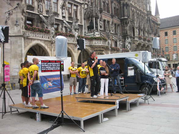 World Oceans Day - Oil Spill Rally - Munich/Germany 51