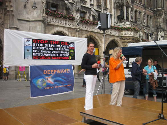World Oceans Day - Oil Spill Rally - Munich/Germany 88